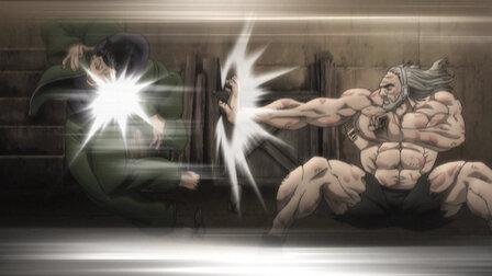 觀賞比試與戰鬥。第 1 季第 8 集。